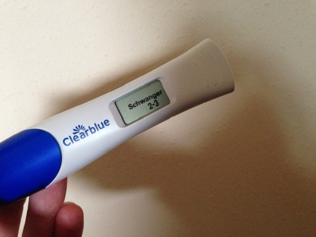 фото беременность 2 3 недели