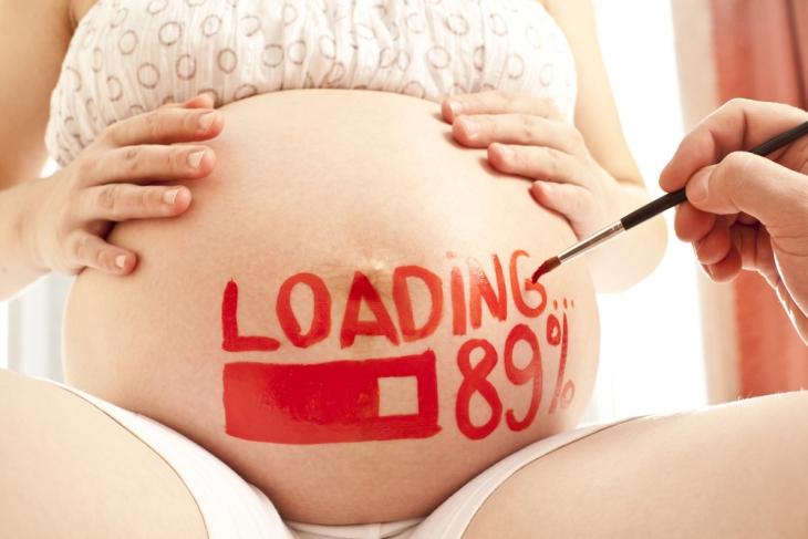 За сколько дней девушка понимает что беремена