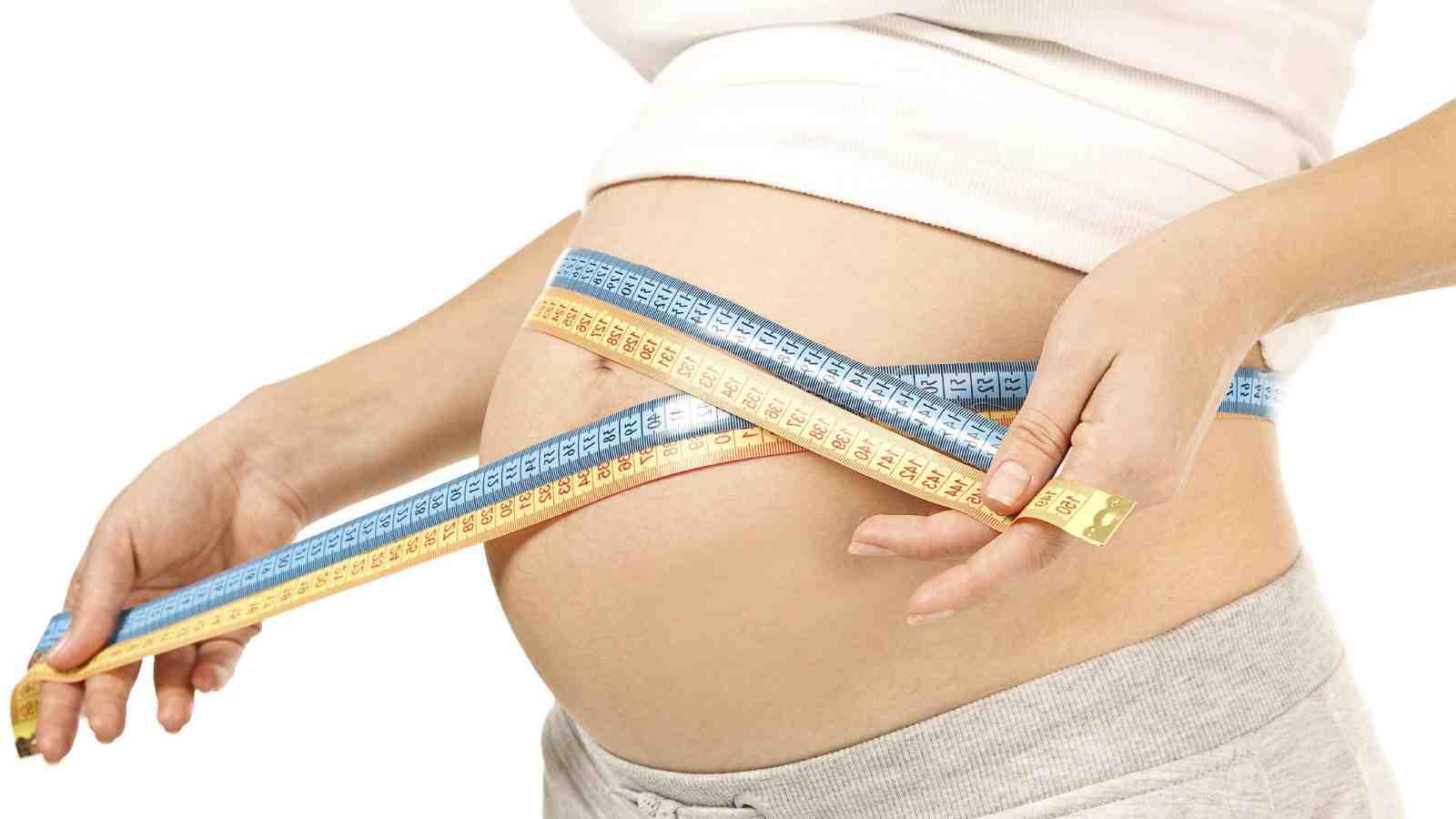 Какого размера живот в 12 недель беременности