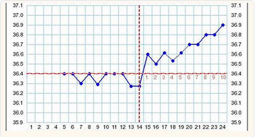 Температура 37.1 и слабость у беременной