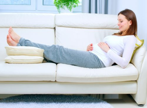 Когда расходятся тазовые кости при беременности