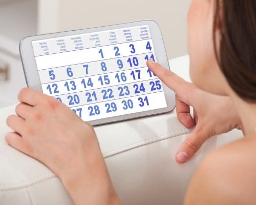 Рассчитать срок беременности при нерегулярном цикле
