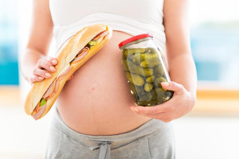 Почему беременные едят несовместимые продукты 75