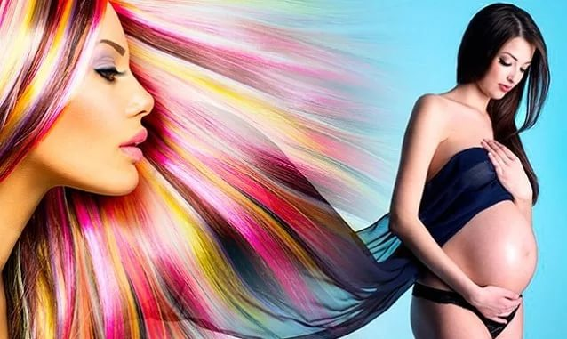 Можно ли красить волосы при беременности в третьем триместре
