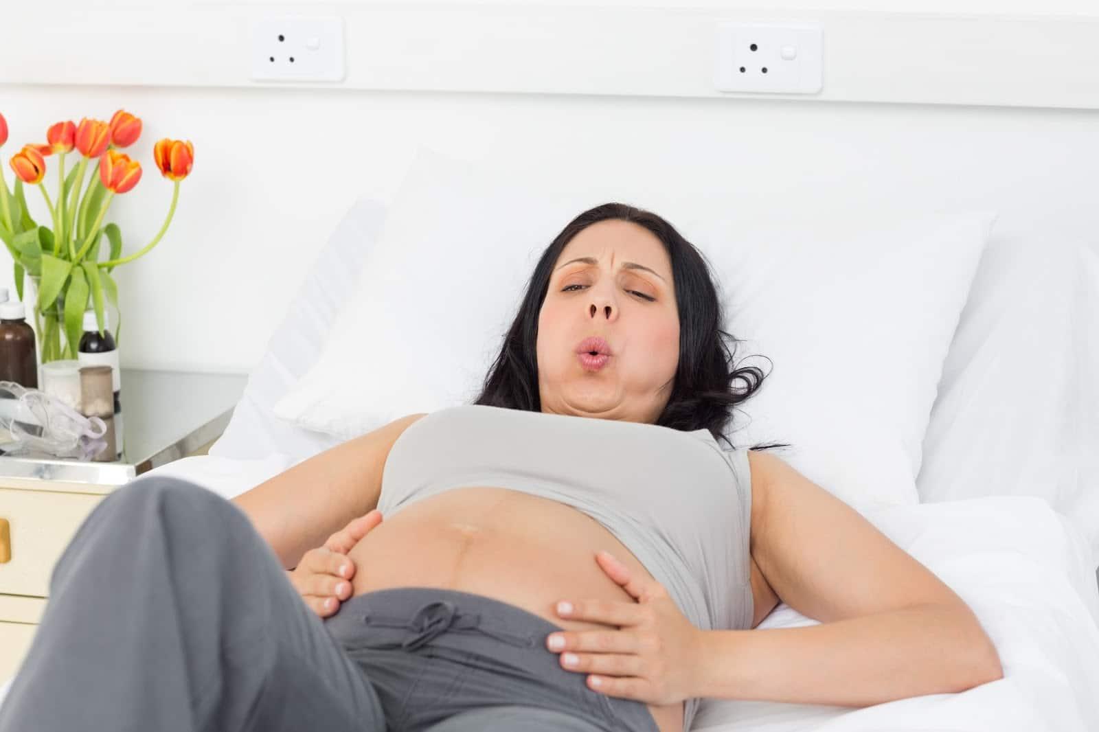 Картинки беременных при схватках