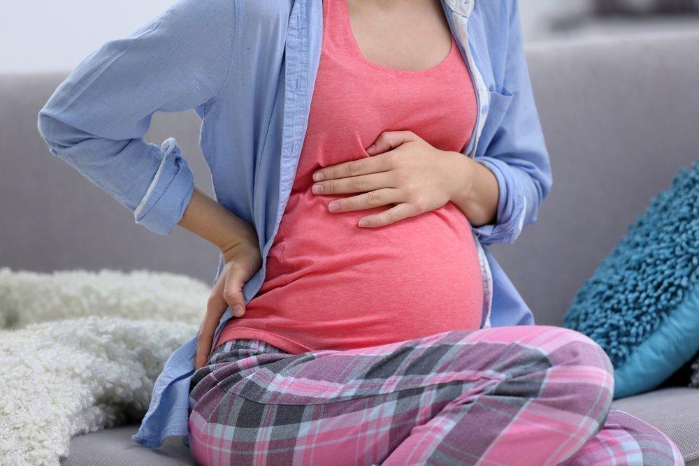 Как болит живот у беременных 31