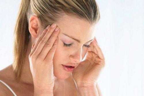 Как снять мигрень при беременности