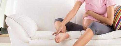 Почему беременной болит ноги