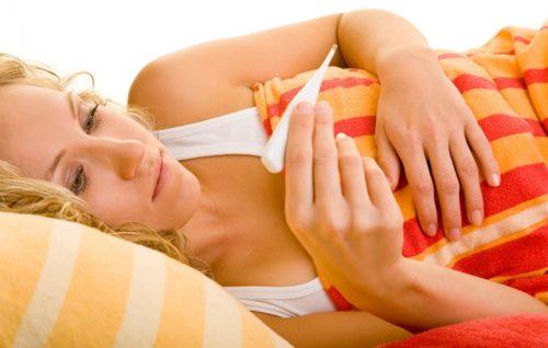 Горячее тело без температуры при беременности