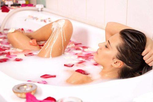Принятие ванны при беременности
