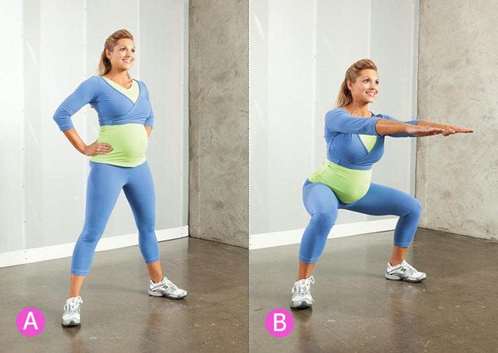 Фитнес для беременных похудения