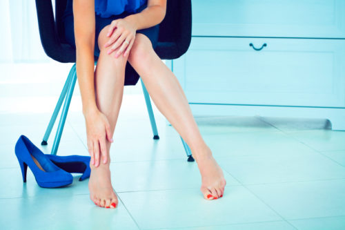 Почему болят ступни ног и пятки при беременности